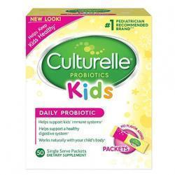 Culturelle Kids Daily Probiotic Packets Dietary Supplement | Helps Support a Healthy Immune & Dige