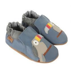 Toucan Tom Baby Shoes, Soft Soles