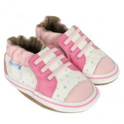 Trendy Trainer Baby Shoes, Soft Soles