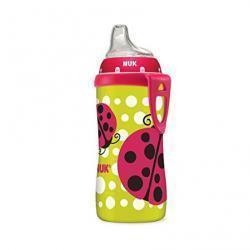 NUK Ladybug Silicone Spout Active Cup, 10-Ounce