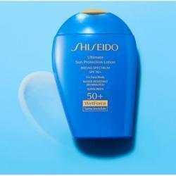 Shiseido Ultimate Sun Protection Lotion Broad Spectrum SPF 50+, 3.3 oz./ 100 mL