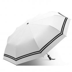Compact Travel Umbrella, Anti-UV Sun Rain Parasol Umbrella - Windproof - Auto Open/Close Button