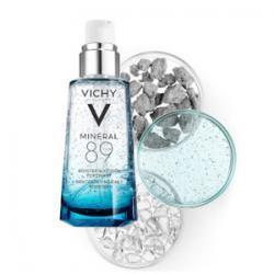 Vichy Mineral 89 Face Serum, Hydrating Moisturizer to Plump Skin