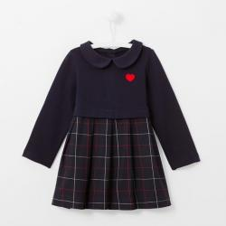CLAUDINE COLLAR DRESS
