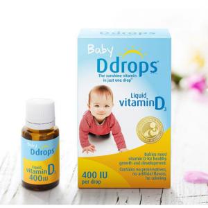 Ddrops Baby 400 IU, Vitamin D, 90 drops 2.5mL @ Amazon