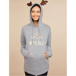 Motherhood Oh Deer! I'm Pregnant! Christmas Maternity Sweatshirt