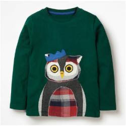 Mini Boden PATCHWORK ANIMAL T-SHIRT