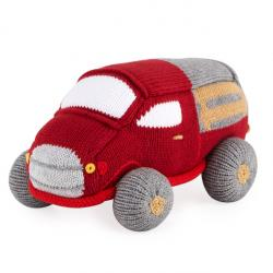 "Zubels Antique Truck Knit Toy, 8"""