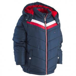 Tommy Hilfiger Big Boys David Hooded Puffer Jacket