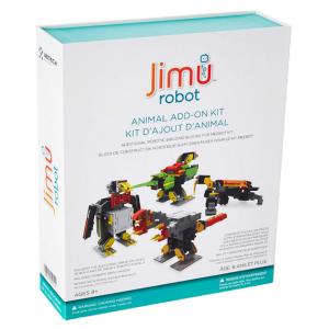 UBTECH JIMU Robot Animal Add On Kit - Digital Servo & Character Parts for All JIMU Robot Kits Buil