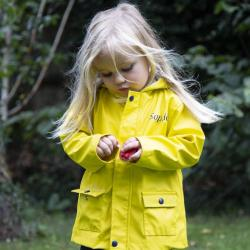 My 1st Years Personalized Yellow Raincoat