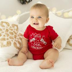 My 1st Years Personalized Little Cracker Christmas bodysuit