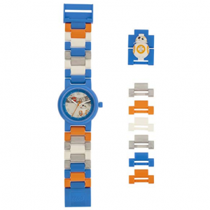 LEGO Watches and Clocks Automatic Plastic Casual Watch, Color:Black (Model: 8020929)