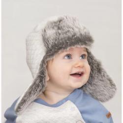 Bomber Hat, Gray