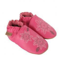 Fiona Flower Baby Shoes, Soft Soles