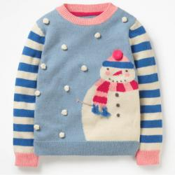 Mini Boden FESTIVE FRIENDS SWEATER