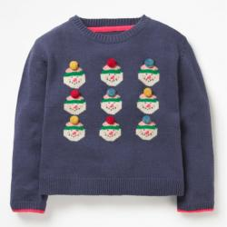 Mini Boden SNOWMAN SWEATER