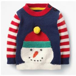 Mini Boden FUN STRIPED SWEATER