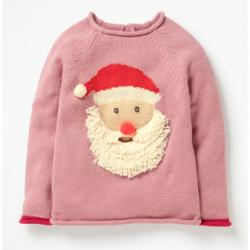 Mini Boden HO HO HO SWEATER