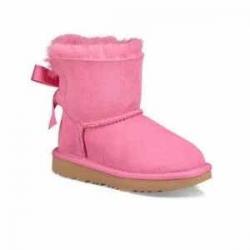 Ugg Little Girl's & Girl's Mini Bailey Bow Boots