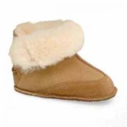 Ugg Baby's Fleece-Lined Sheepskin Boo Boots
