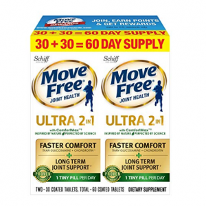 $17.34 For Move Free Advanced Ultra 2-in-1 with Comfortmax , 60 Count @ Amazon