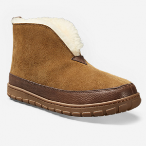 Men's Eddie Bauer Shearling Boot Slippers