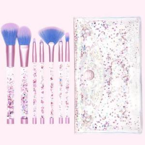 Aquarium makeup brushes