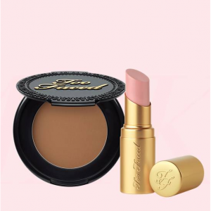 Too Faced Cosmetics Too Faced Cosmetics Kiss & Makeup Set, Lipstick and Bronzer