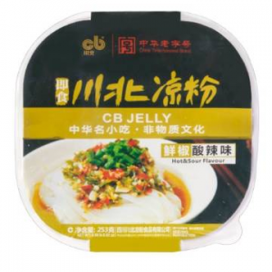 【Clearance】CHUANBEI Sour Pepper Instant Jelly 253g