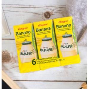 BINGGRAE Banana Flavored Milk Drink 6pack*200ml