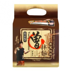 TSENG Sichuan Pepper Scallion Noodle 4 pack 464g