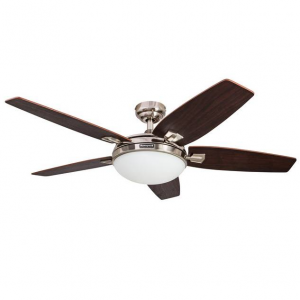 Canbury Indoor Ceiling Fan, Brushed Nickel