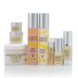 SUZANNE Organics 8-Piece Ultimate Skincare and Bodycare Kit