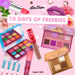 Free Gift With Qualifying Purchase @ Lime Crime