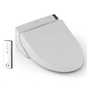 TOTO SW2024#01 A200 WASHLET Electronic Bidet Tolet Seat with SoftClose Lid. Elongated, Cotton Whit