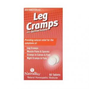 Leg Cramps with Quinine Sulfate