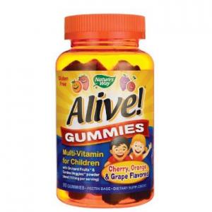 Nature's Way Alive! Children's Multi-Vitamin Gummies