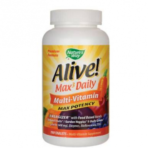 Nature's Way Alive! Max3 Daily Multi-Vitamin Max Potency