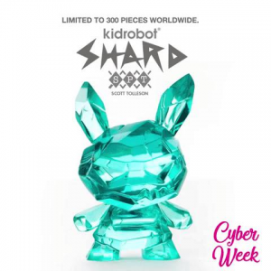 """THE SHARD ICE MONSTER DUNNY 3"""" RESIN ART FIGURE BY SCOTT TOLLESON"""