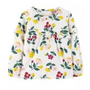 Floral Babydoll Ruffle Top