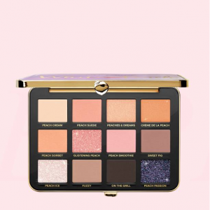 WHITE PEACH MULTI-DIMENSIONAL EYE SHADOW PALETTE INFUSED WITH PEACH AND SWEET FIG MILK