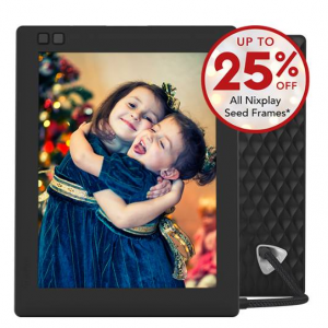 Nixplay Seed 8 inch (Wi-Fi), Best Christmas Gift @Nixplay
