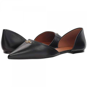 78% OFF COACH Leather Pointy Toe Flat @6PM.COM