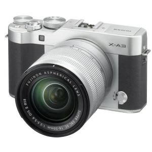 $299.05 off Fujifilm X-A3 Mirrorless Camera with XC 16-50mm OIS II Lens, Silver @ Adorama Camera