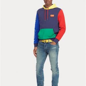 Hi Tech Color-Blocked Hoodie