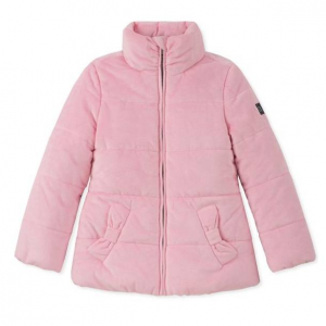 Calvin Klein Girl's Quilted Full-Zip Jacket