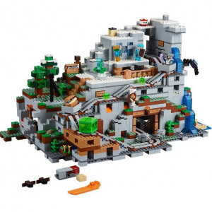 LEGO Minecraft The Mountain Cave 21137 Building Kit (2863 Piece) @ Amazon