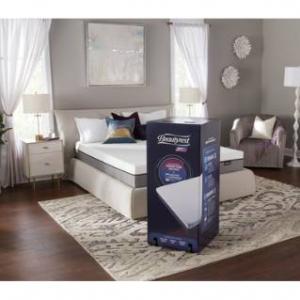 "Simmons Beautyrest ST 10"" King Memory Foam Mattress-In-A-Box W/ Sleep Tracker"