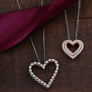Up to $300 off necklaces, earrings and rings @Helzberg Diamonds